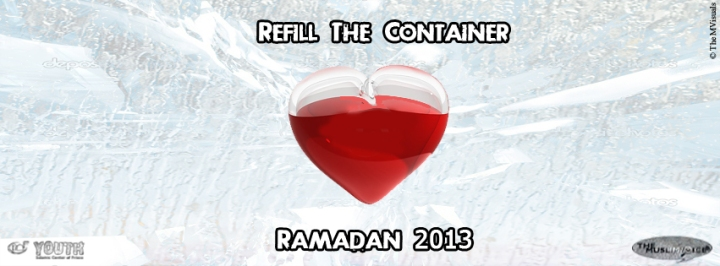 Refill The Container Ramadan